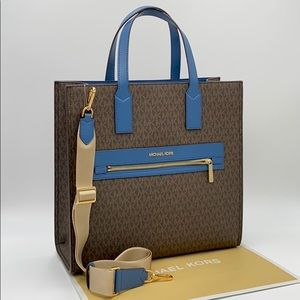 MICHAEL KORS KENLY LARGE NORTH SOUTH TOTE